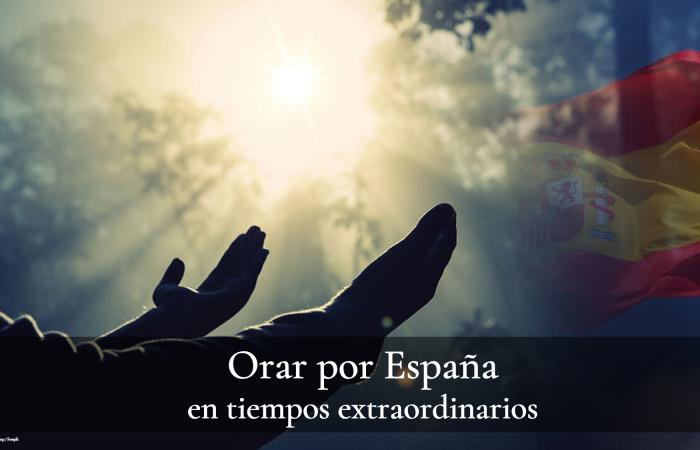 Orar por España en tiempos extraordinarios