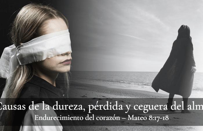 Causas de la dureza, pérdida y ceguera del alma